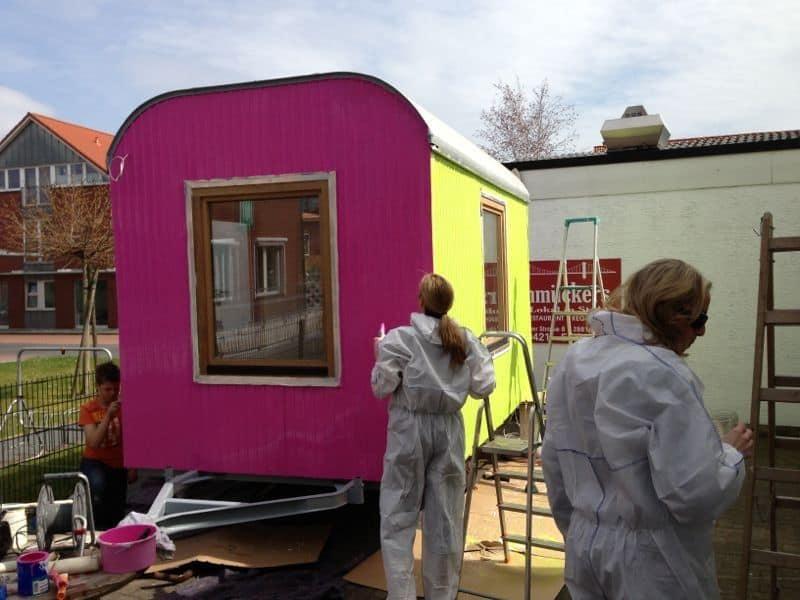Der Kids-Salon nimmt Farbe an