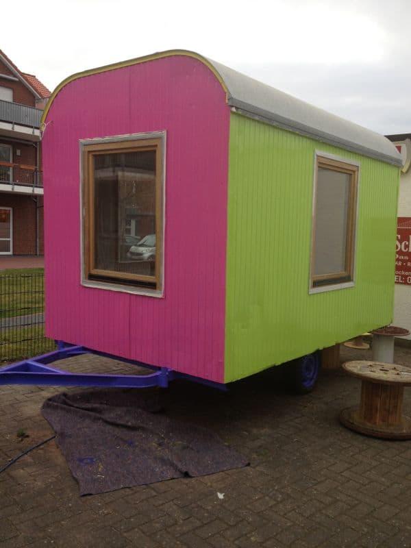 Kids-Salon Pink-Grün