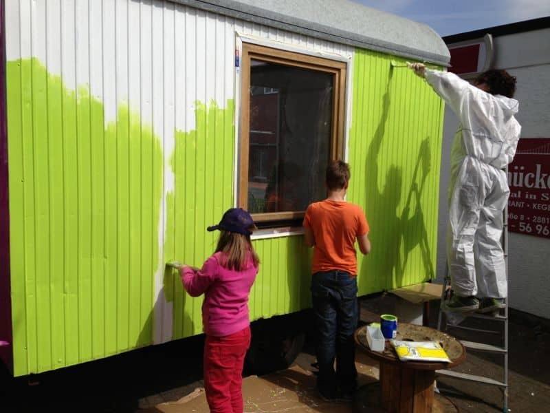 Kids gestalten den Kids-Salon